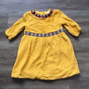 Girls 5T boho chic dress